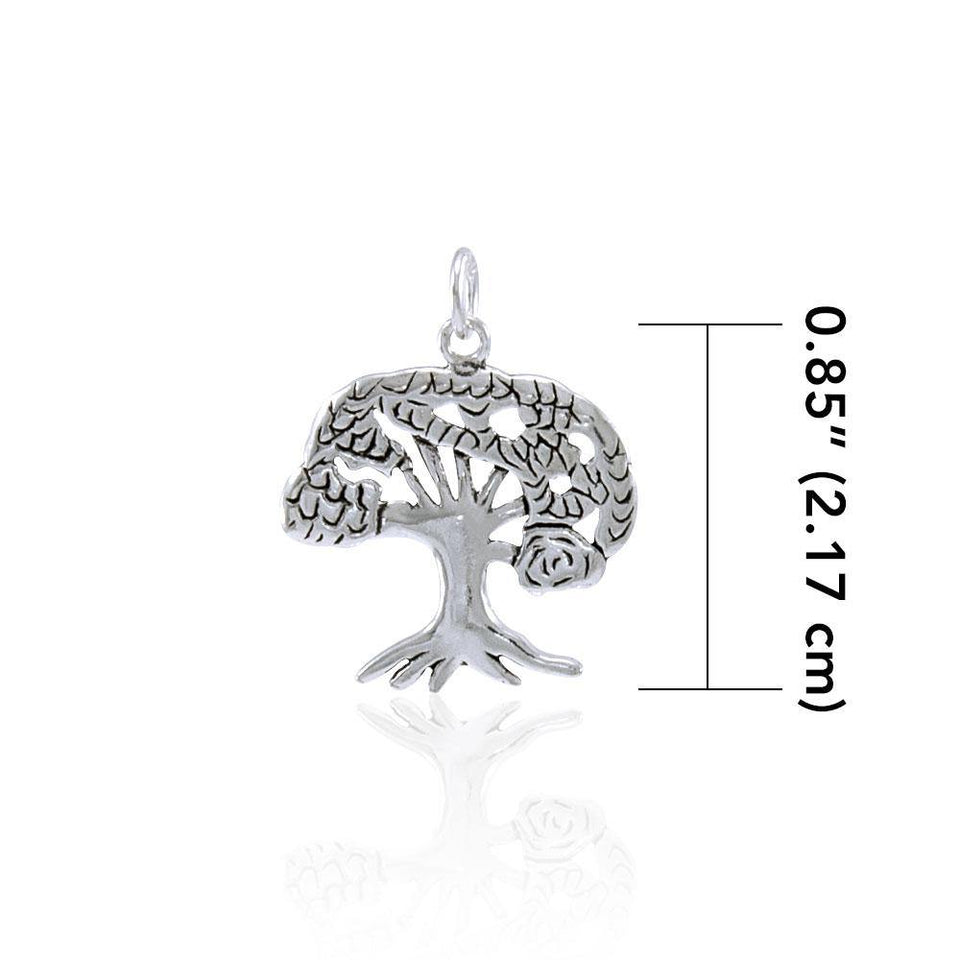 The Star Tree of Life Silver Charm TC081 peterstone.