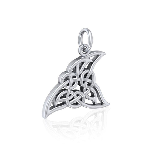 Celtic Shark Fin Silver Charm TCM624 peterstone.