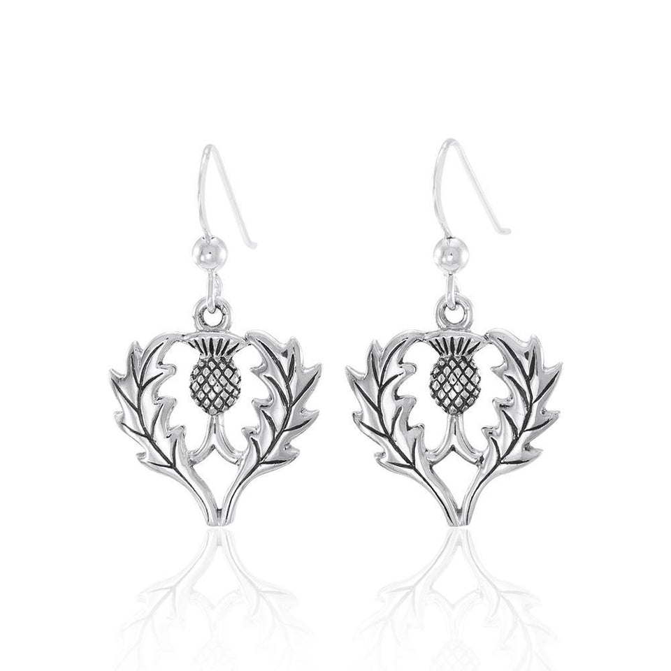 Scottish Thistle Earrings TE2874