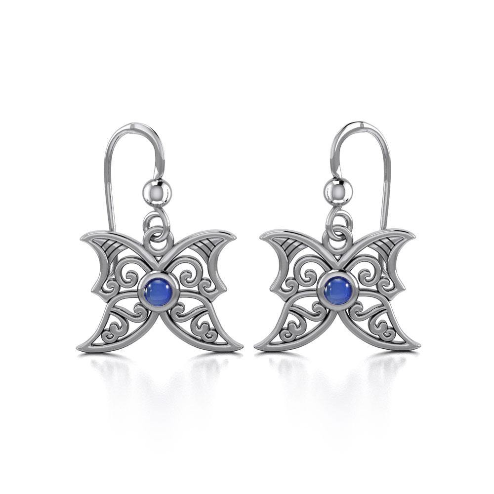 Blue Moon Silver Earrings TE2897