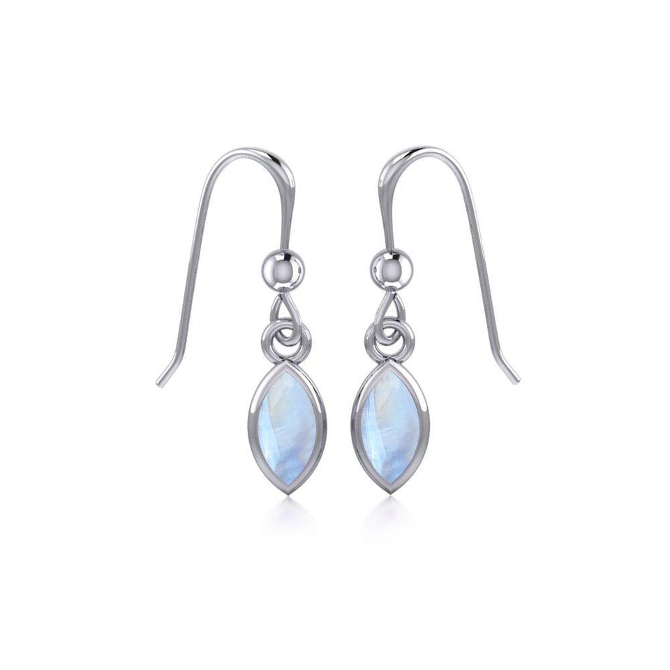 Small Marquise Cabochon Earrings TE910