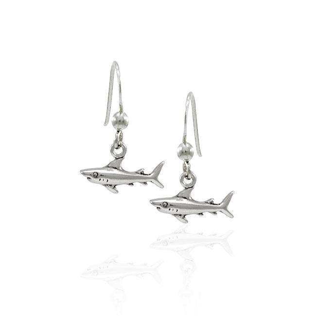 Shark Sterling Silver Earring TER1505