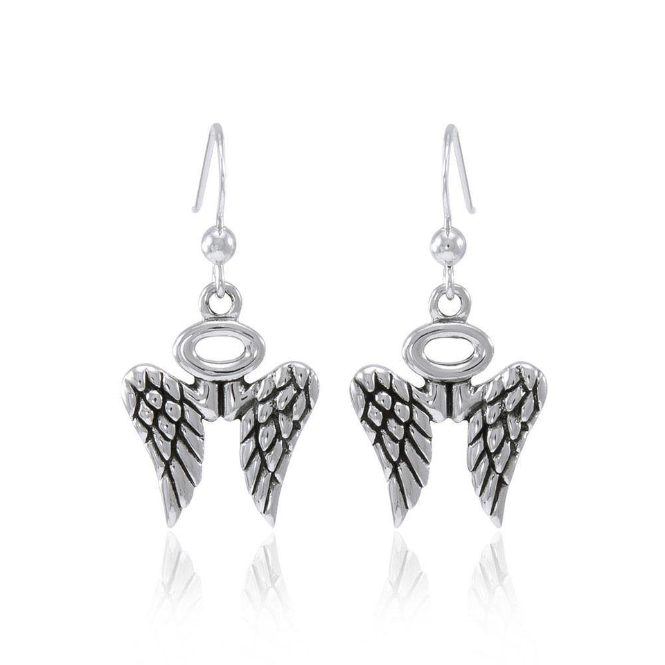 Angel Wings Halo Earrings TER1618