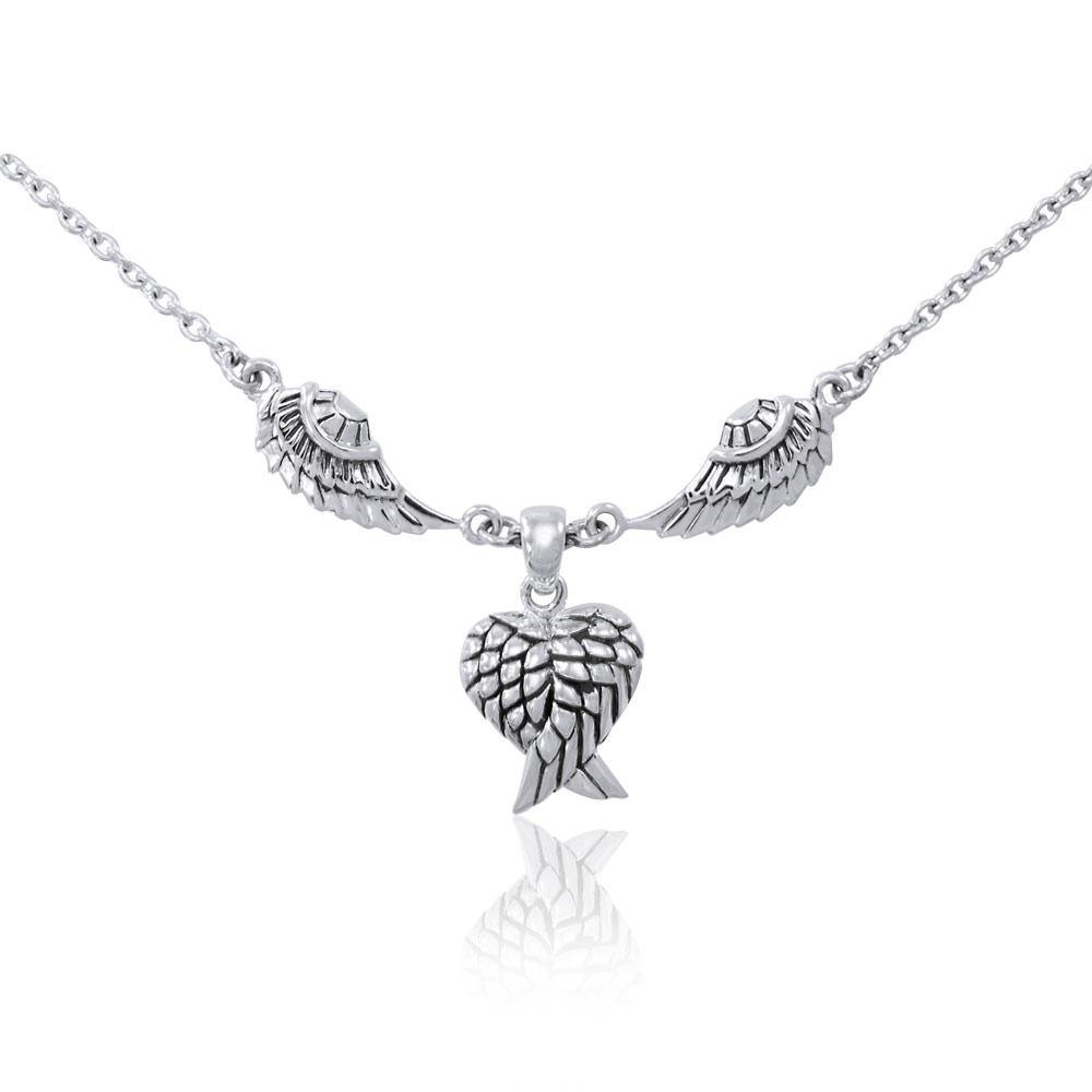 Angel Wings Necklace TNC419 peterstone.