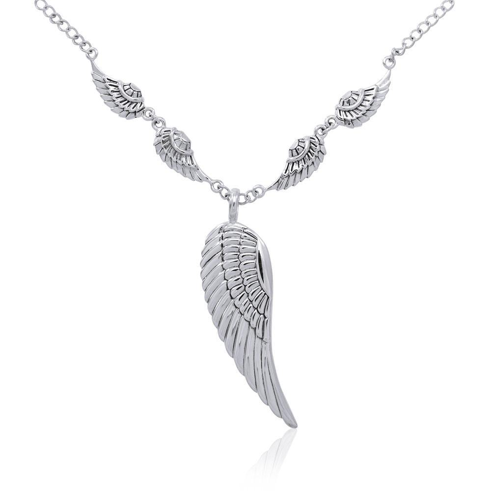 Angel Wings Necklace TNC420 peterstone.