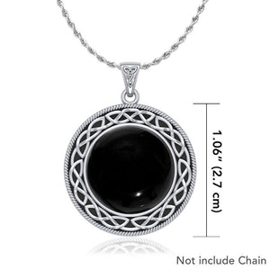 Celtic Knotwork Pendant TP241