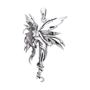 Firefly Fairy Silver Pendant TP2825 peterstone.
