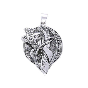 Moonlight Faery Sterling Silver Pendant TP3431
