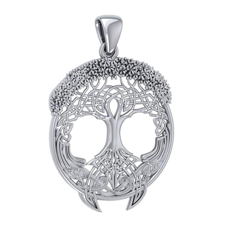 I am in awe of the Tree of Life ~ Sterling Silver Jewelry Pendant TP3472 peterstone.