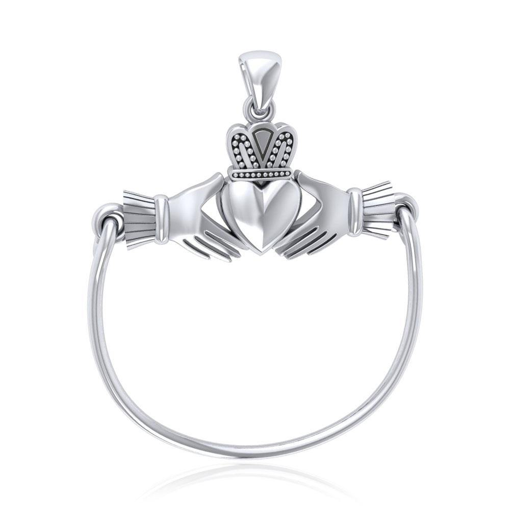 Celtic Claddagh Charm Holder Pendant TP939