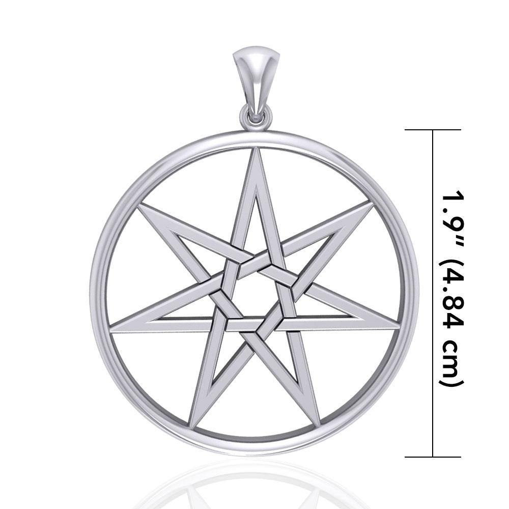 Elven Star Silver Pendant TPD2227