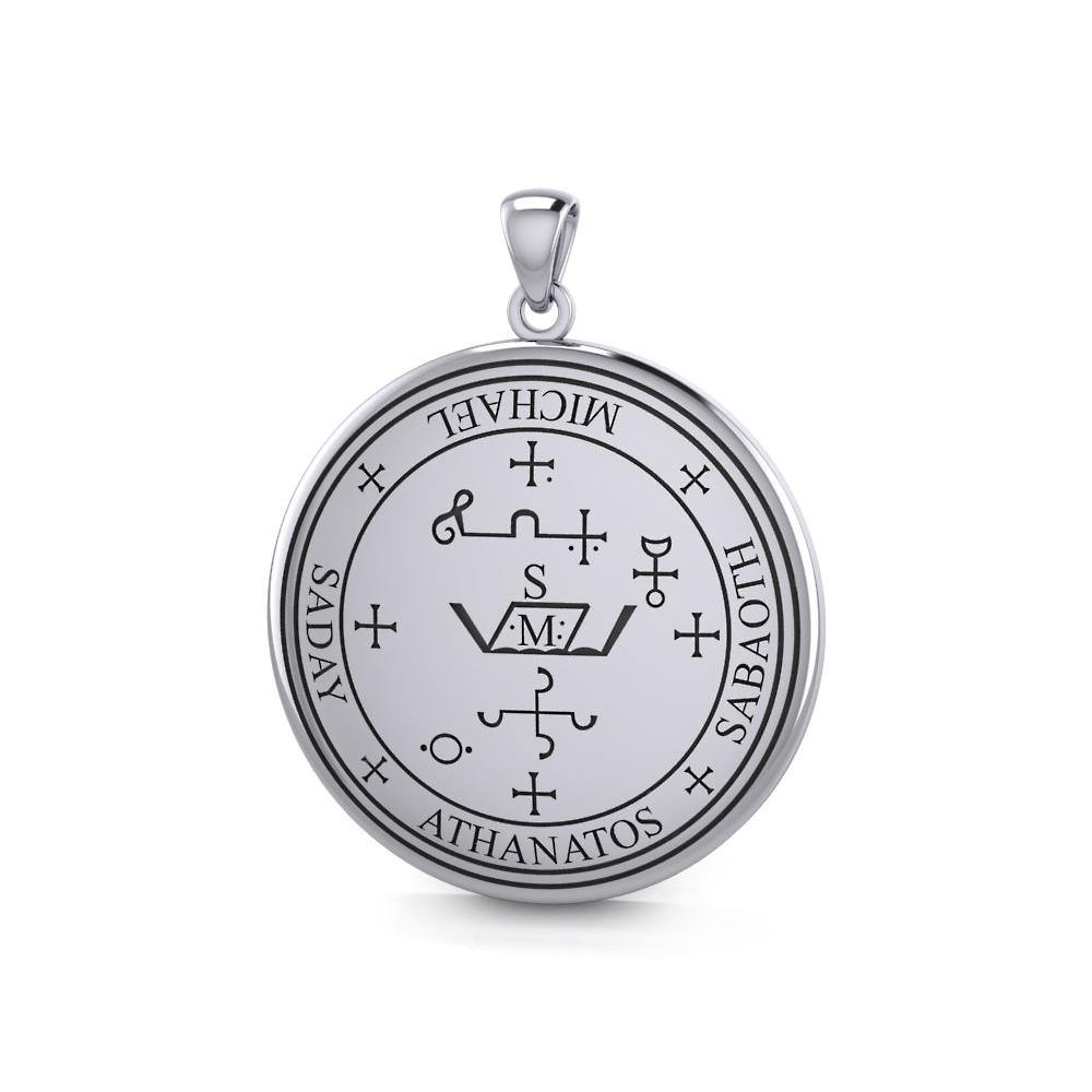Sigil of the Archangel Michael Sterling Silver Pendant – Peter Stone