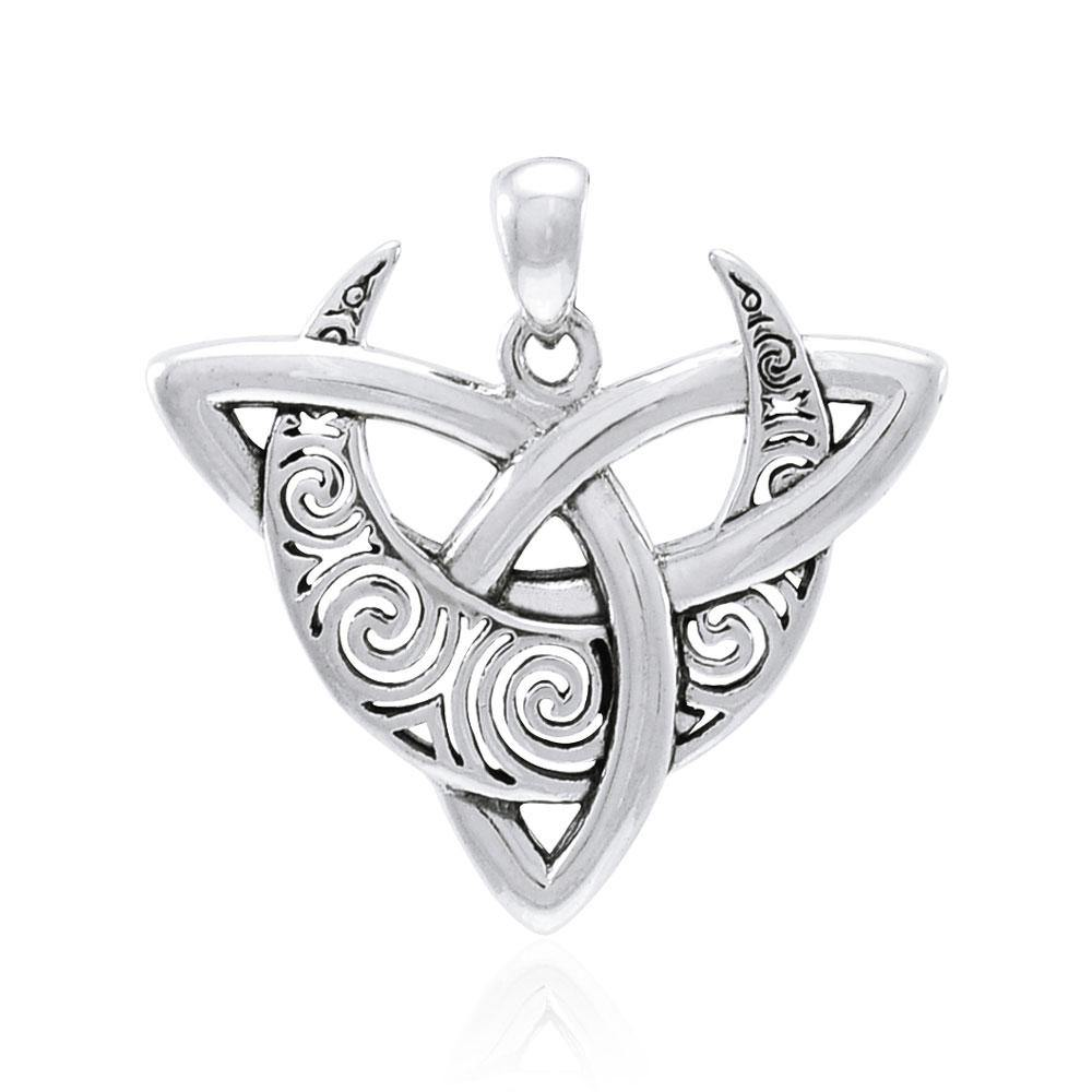 Brigid Ashwood Trinity Moon Pendant