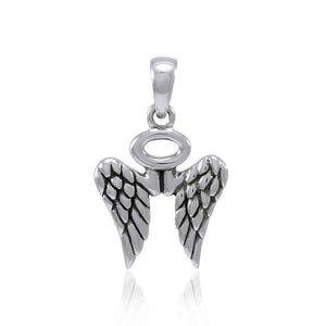 Angel Wings Halo Pendant TPD4702 peterstone.