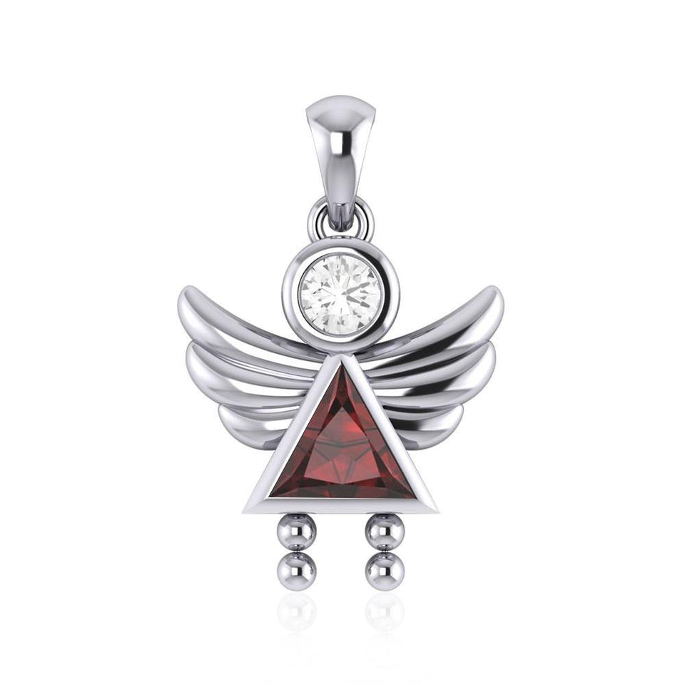 A Heavenly Gift from the Little Angel Girl Pendant TPD5032