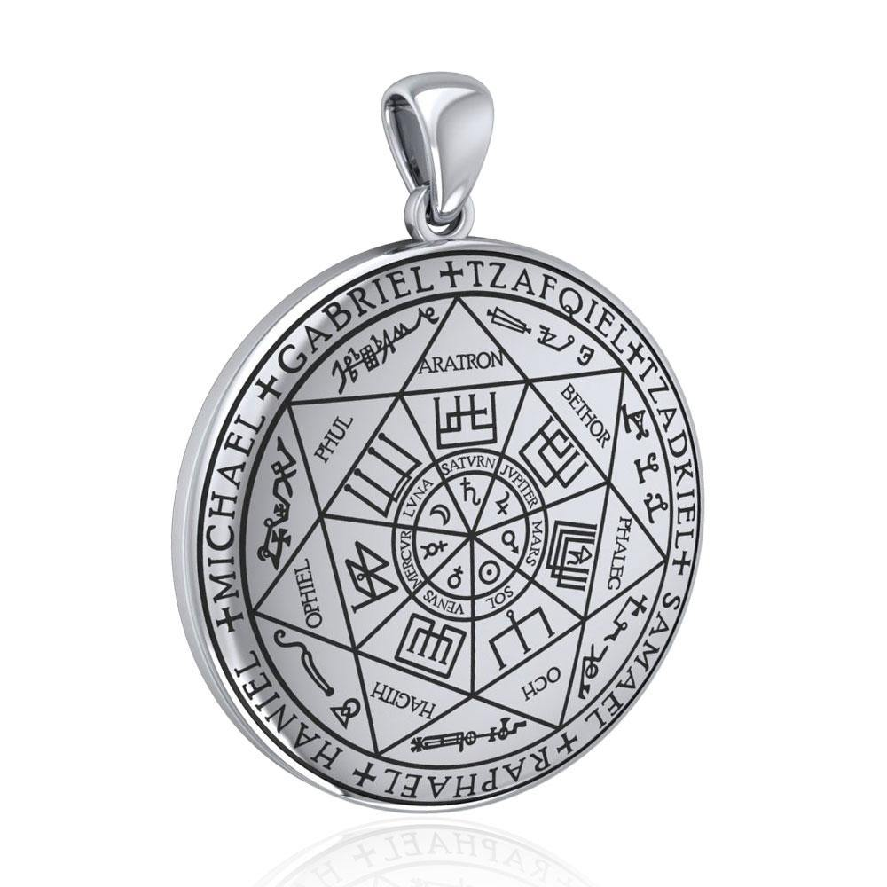 The Seven Archangels Silver Pendant TPD5154