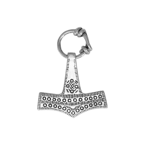 Thorเน'โ'ฌย™s Hammer, a powerful amulet ~ Sterling Silver Jewelry Pendant TPD677
