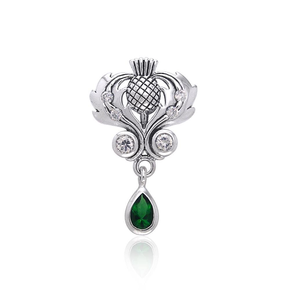 Scottish Thistle Pendant TPD687