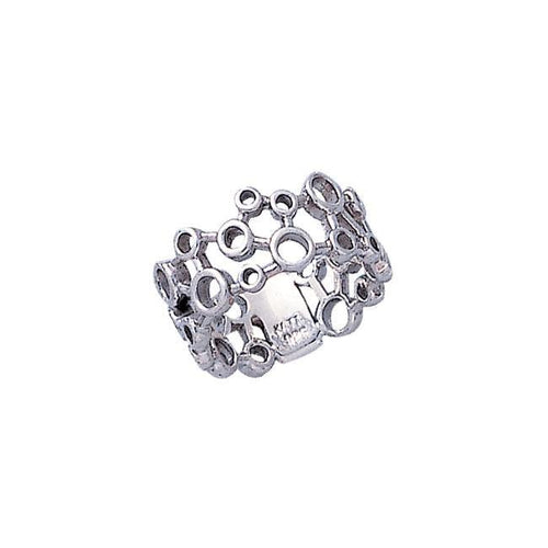Modern Design Silver Ring TR1709 peterstone.