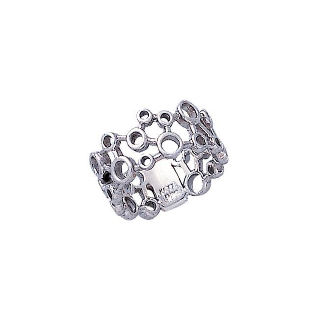 Modern Design Silver Ring TR1709
