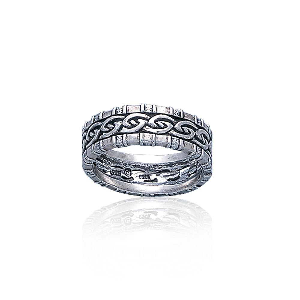 Celtic Knotwork Silver Ring TR3416