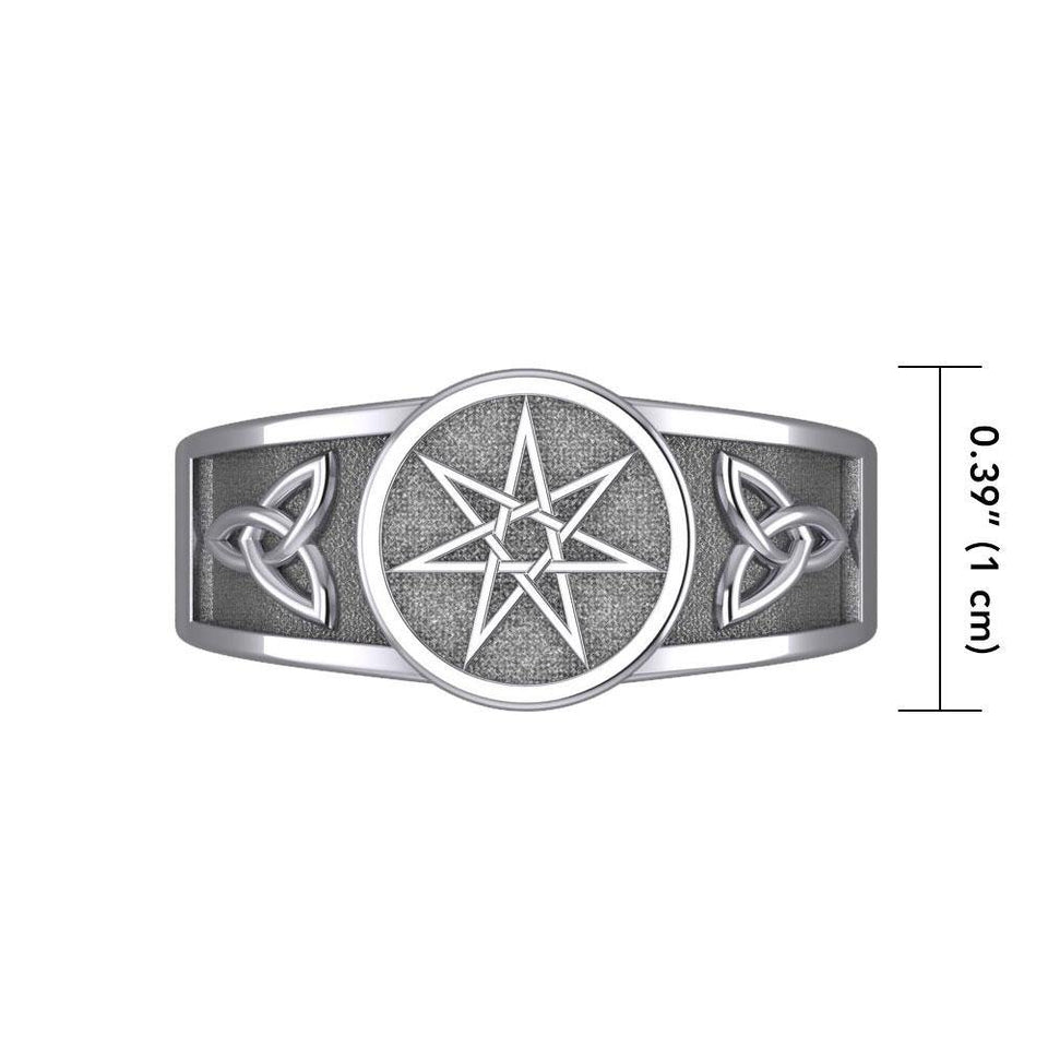 Elven Star - a Ring of Magic and Enchantment Ring TR3711 peterstone.