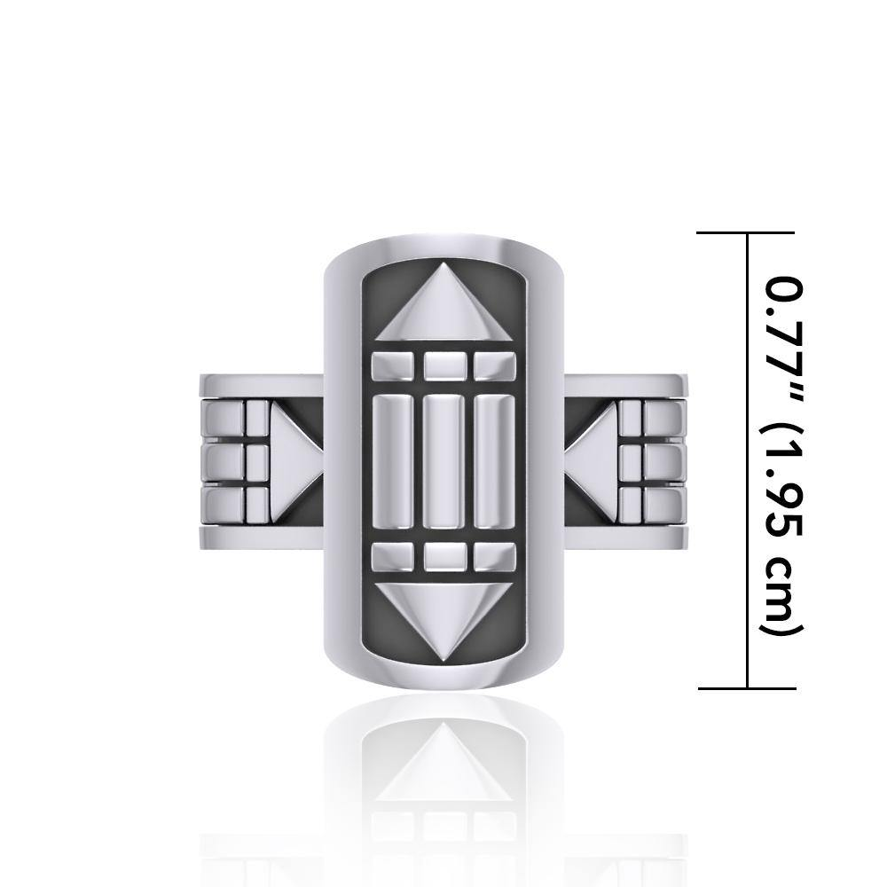 Atlantis Sterling Silver Ring TRI1019
