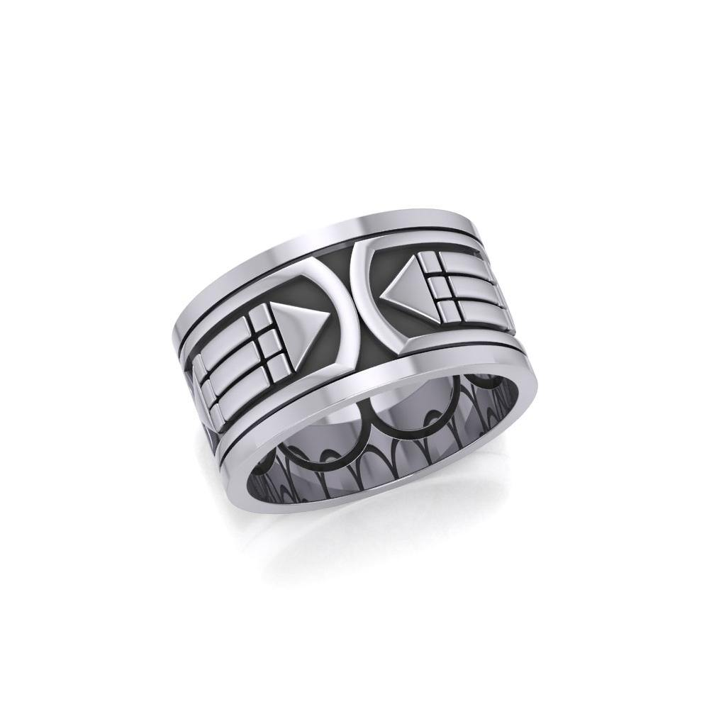 Atlantis Sterling Silver Ring TRI1020 peterstone.