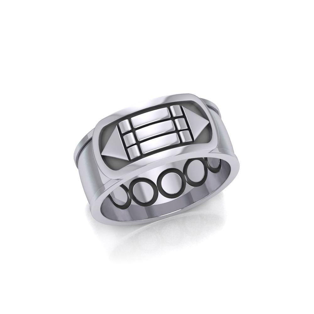 Atlantis Sterling Silver Ring TRI1021