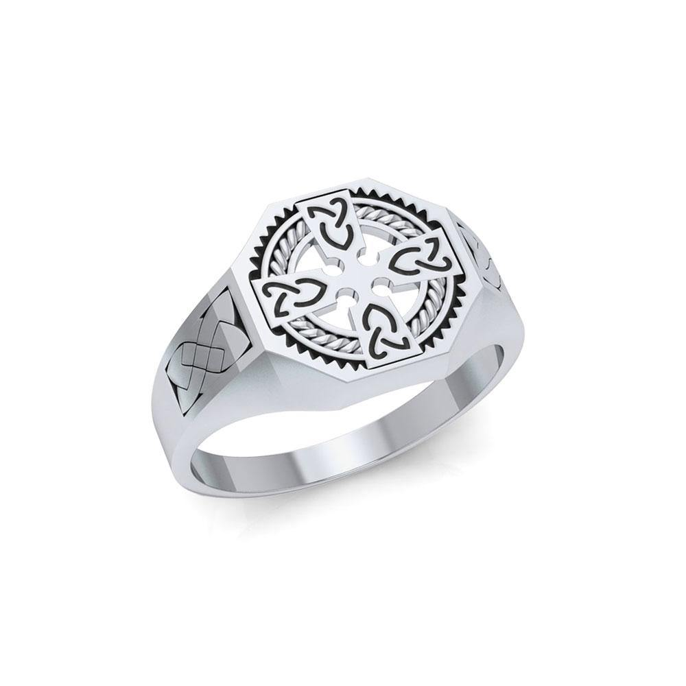 Celtic Cross Ring TRI1316
