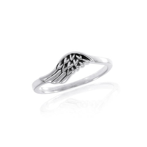 Angel Wing Ring TRI1550 peterstone.