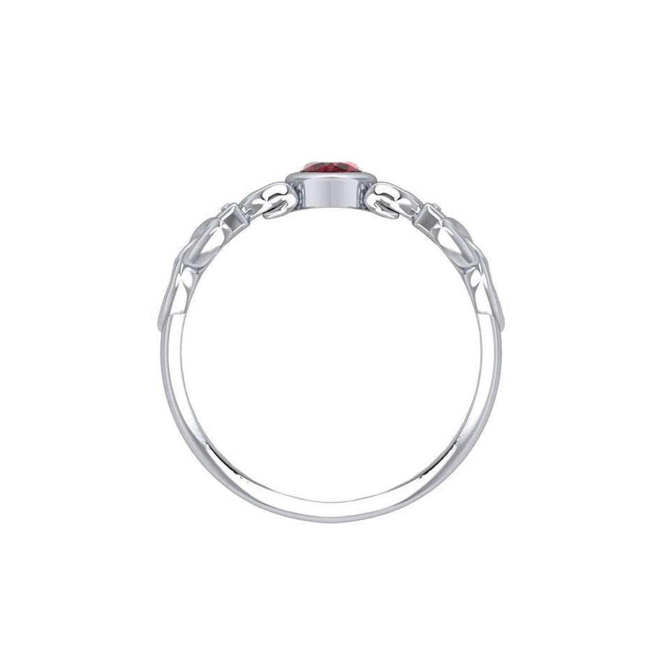 Like Icon Sterling Silver with Gemstone TRI1748 peterstone.