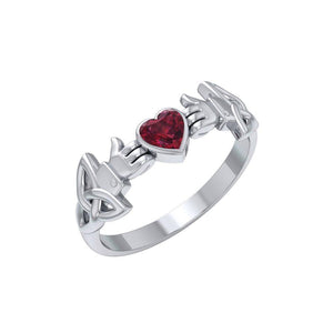 Like Icon Sterling Silver with Gemstone TRI1748