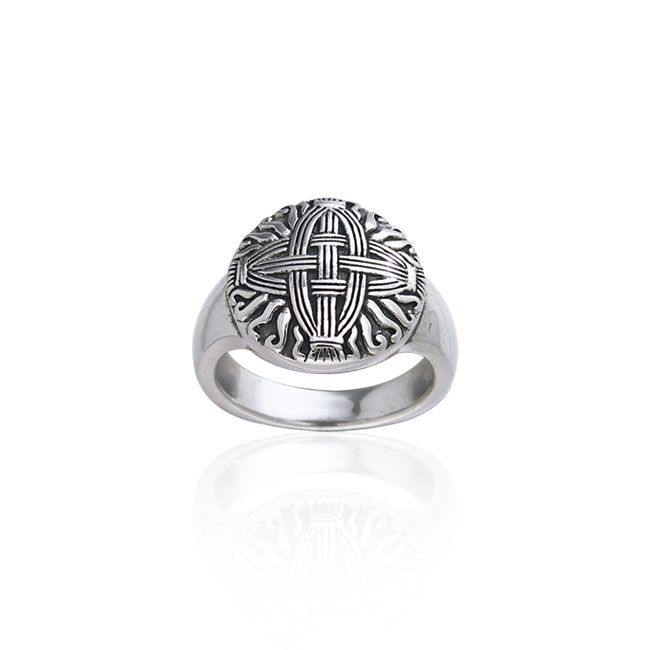 Celtic Cross of St. Brigid Ring TRI241