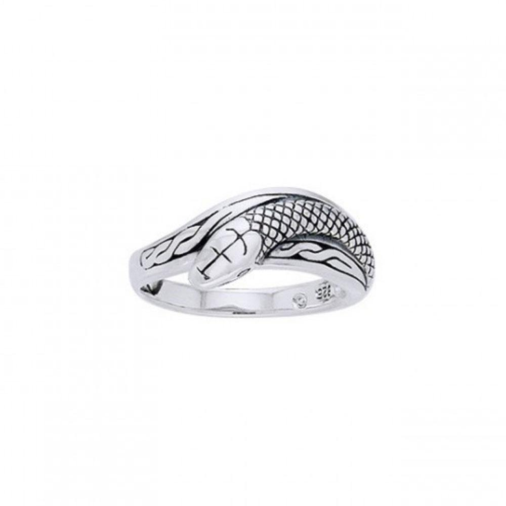 Celtic Snake Ring TRI559