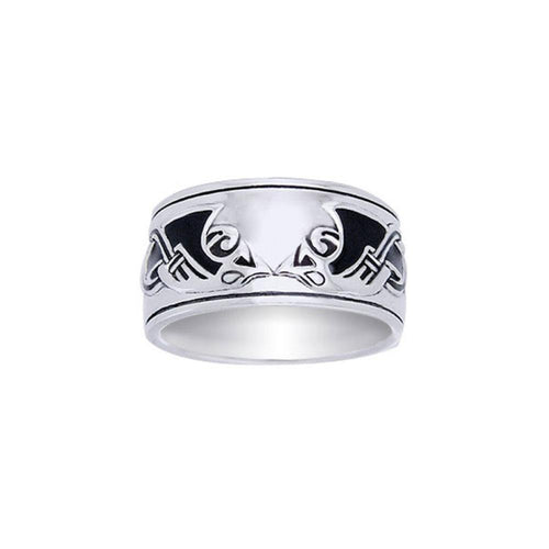 Viking Mammen Weave Ring TRI561