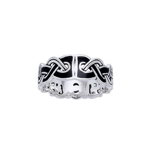 Viking Mammen Weave Ring TRI566 Ring