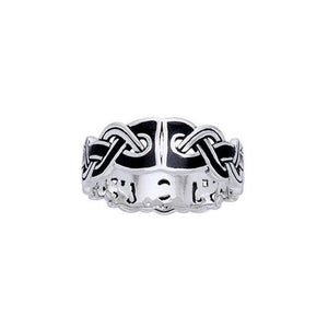 Viking Mammen Weave Ring TRI566