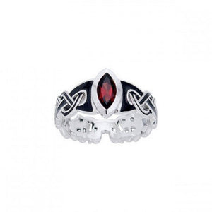 Viking Mammen Weave Ring TRI567 peterstone.