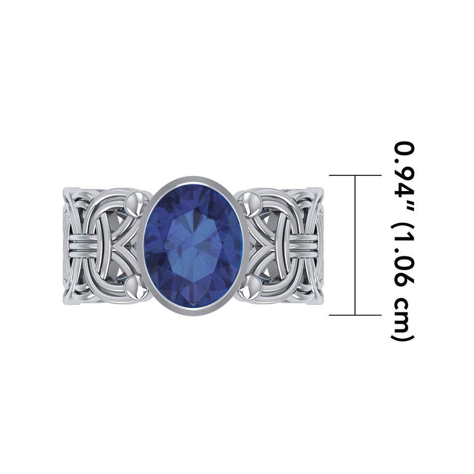 Borre Knot Ring TRI572