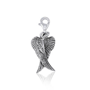 Angel Wings Clip Charm TWC085 peterstone.