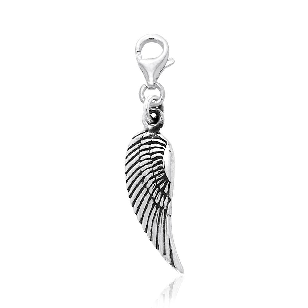 Angel Wing Clip Charm TWC086