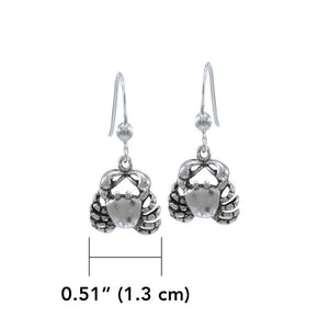 Crab Earrings WE079 peterstone.