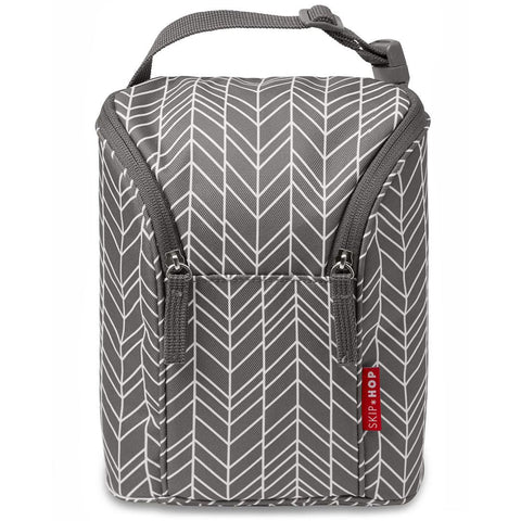 Bolsa Térmica Skip Hop Gray Feather