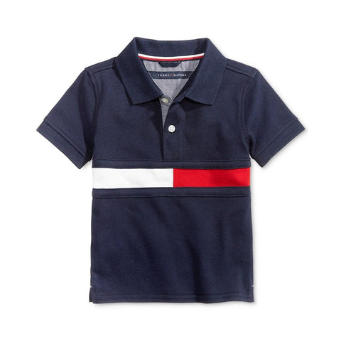 Camisa Polo Tommy Hilfiger Swim Navy