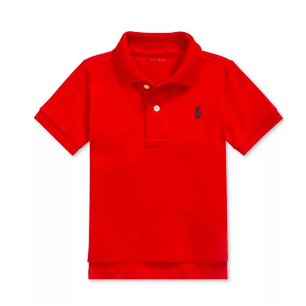 Camisa Polo Ralph Lauren Baby Cotton Red