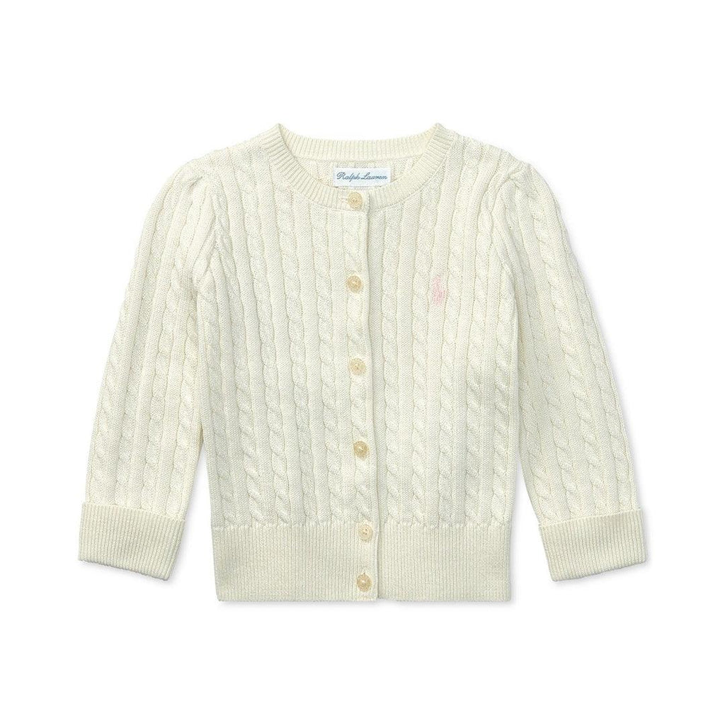 Cardigan Polo Ralph Lauren Baby White