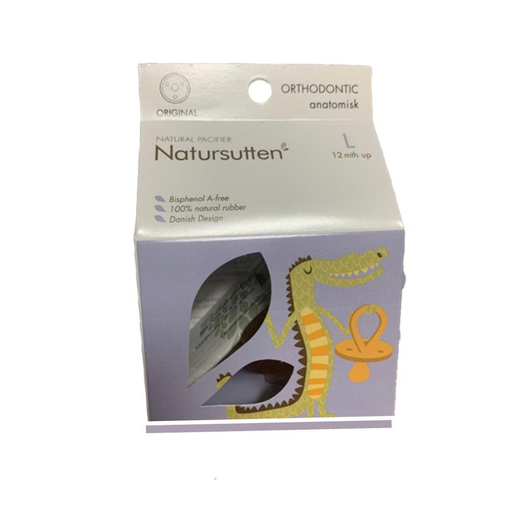 Chupeta Natursutten Orthodontic Rounded 12M+