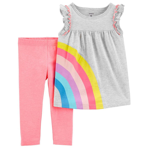 Conjunto Carter's Top & Legging Rainbow