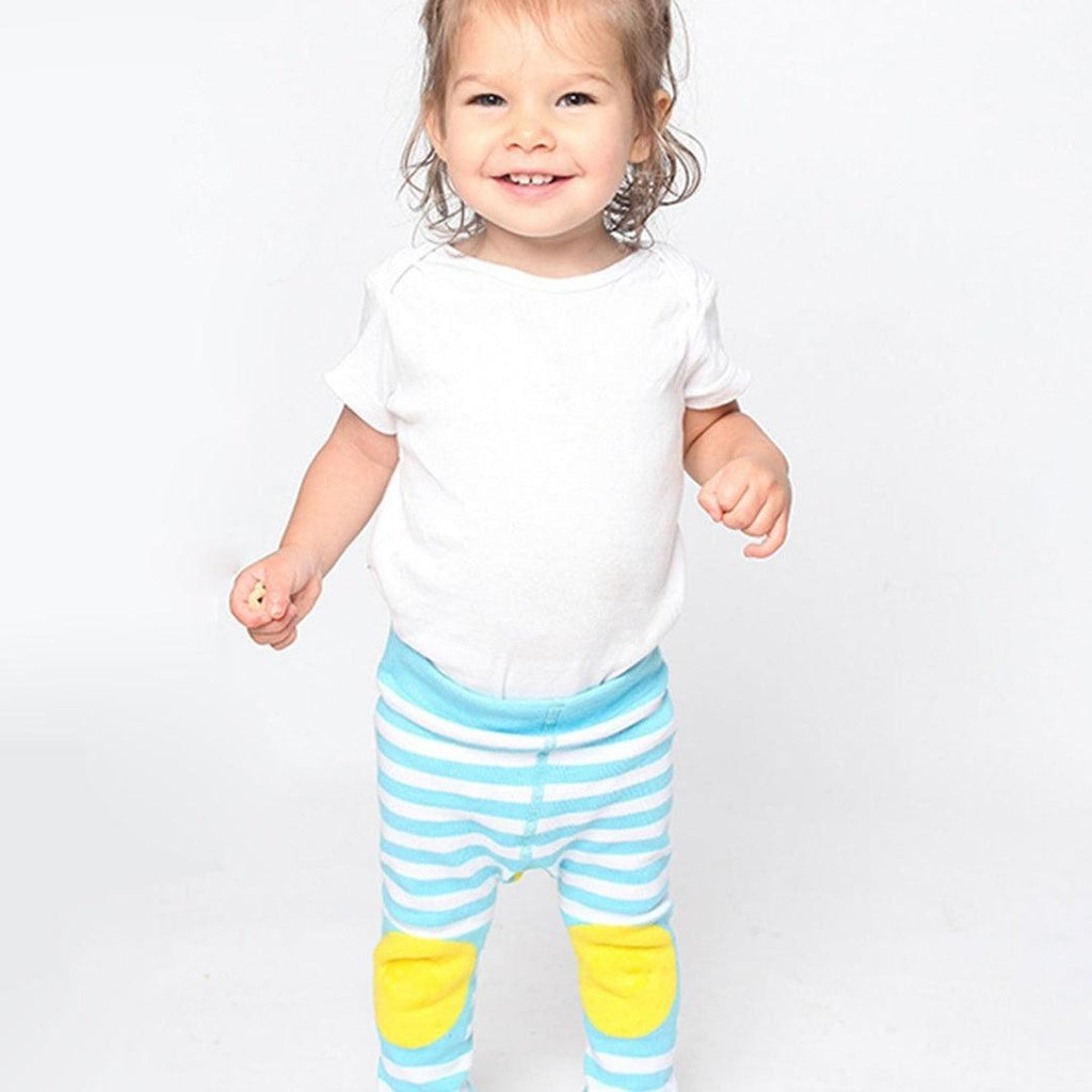 Conjunto Zoocchini Meias & Leggings Duck Yellow